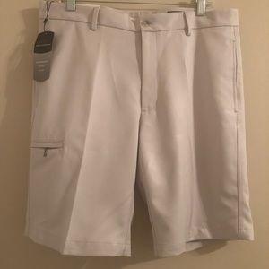 Greg Norman Cream/Beige Golf Shorts 34Waist NWT's